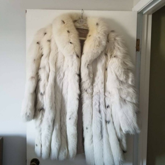 Fur Coat from Finland Jackets & Blazers - Fox Fur Coat Woman's from Finland Large